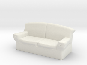 28mm scale Couch in White Strong & Flexible