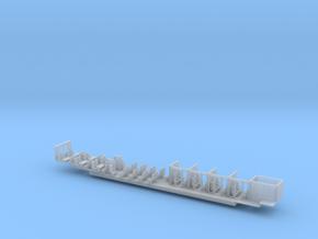 ICE1 Inneneinrichtung 2. Klasse  in Smooth Fine Detail Plastic