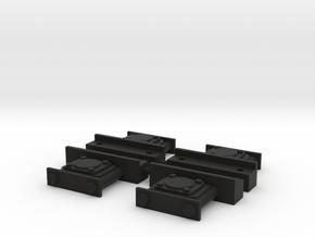 1:13,3, LKM NS1 Achslager in Black Natural Versatile Plastic
