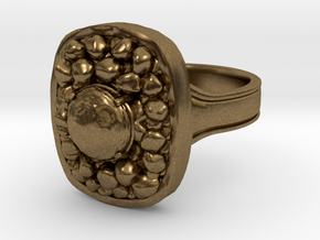 Havel's Ring in Natural Bronze: 8.5 / 58