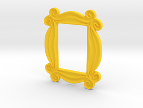 Peep Hole Frame in Yellow Processed Versatile Plastic