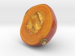 The Pumpkin-2-Half-mini in Glossy Full Color Sandstone