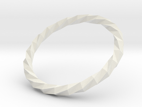 Twistium - Bracelet P=210mm in White Strong & Flexible