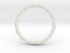 Twistium - Bracelet P=230mm in White Natural Versatile Plastic