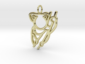 Koala Pendant in 18k Gold Plated