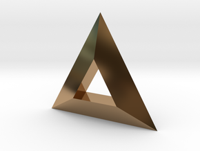 TriAngular in Polished Brass