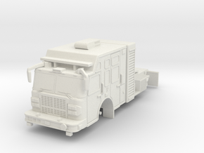 1/87 USAR or HAZMAT Tractor in White Strong & Flexible
