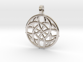 SUNFLARE in Rhodium Plated Brass