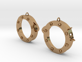 DIY Steampunk Cosplay Goggles in Polished Brass