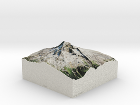 Mt. Hood, Oregon, USA, 1:25000 Explorer in Full Color Sandstone