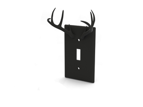 Light Switch in Black Natural Versatile Plastic