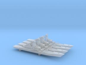 Pyotr Velikiy x 4, 1:6000 in Smooth Fine Detail Plastic
