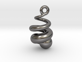 SWIRLy in Polished Nickel Steel