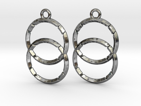VESICA PISCIS (earrings) in Premium Silver