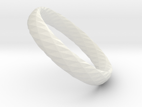 Twistium - Bracelet P=180mm h15 in White Natural Versatile Plastic