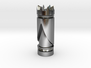 CHESS ITEM RAINHA / QUEEN in Polished Silver