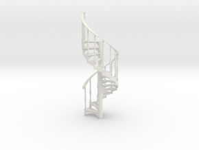 S-35-spiral-stairs-market-1a in White Natural Versatile Plastic