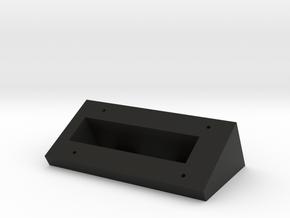 Ring Doorbell Wedge in Black Natural Versatile Plastic