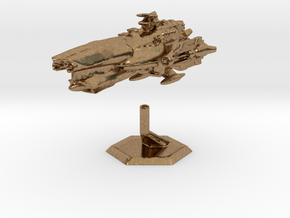Star Sailers - Fallisorion - Heavy Cruiser  in Natural Brass