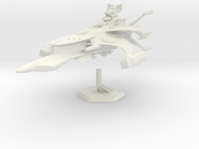 Star Sailers - Suphiloryn - Pirate Cruiser in White Natural Versatile Plastic