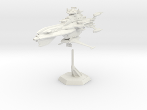 Star Sailers - Dauntless - Destroyer (refit) 002 in White Strong & Flexible