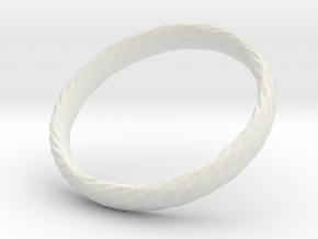 Twistium - Bracelet P=210mm h15 in White Natural Versatile Plastic