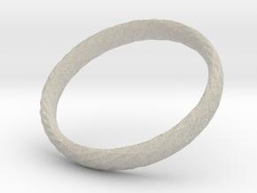 Twistium - Bracelet P=210mm h15 in Natural Sandstone