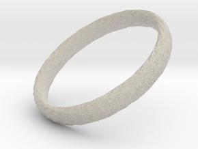 Twistium - Bracelet P=220mm h15 in Natural Sandstone