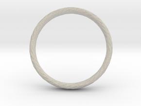 Twistium - Bracelet P=230mm h15 in Natural Sandstone