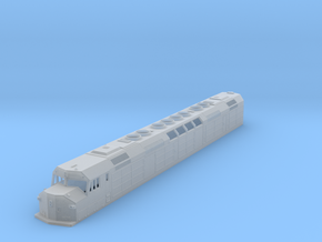 N Scale DDF40X in Smooth Fine Detail Plastic