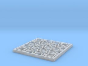 Sulaco floor tile 1/35 scale in Smoothest Fine Detail Plastic