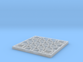 Sulaco floor tile 1/10 scale in Smoothest Fine Detail Plastic