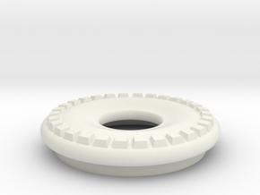 DRAW lamp - decorative ring thick in White Natural Versatile Plastic: Small
