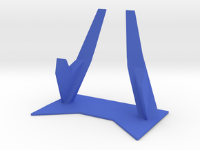 Elevated Smartphone Stand in Blue Strong & Flexible Polished