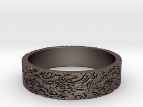Zen US 12 in Polished Bronzed Silver Steel