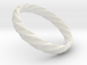 Twistium - Bracelet P=210mm h15 Alpha in White Natural Versatile Plastic