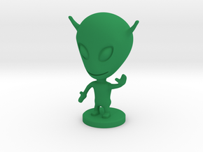 ALIEN v.3 in Green Processed Versatile Plastic