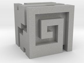 Nuva Cube in Aluminum