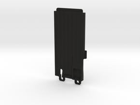 045006-01 Ampro Battery Door, Standard in Black Natural Versatile Plastic