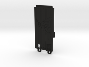 Ampro Battery Door Hornet in Black Strong & Flexible