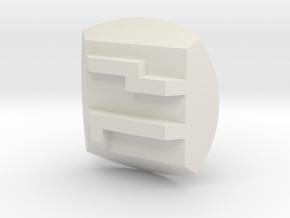 Pohatu Nuva Symbol in White Natural Versatile Plastic