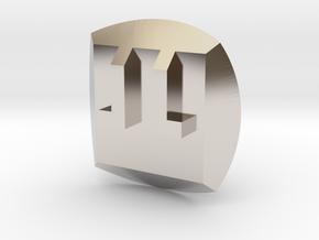 Tahu Nuva Symbol in Platinum