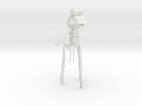 """AQ02 Martian Dominator Tripod (8.5"""") in White Natural Versatile Plastic"""