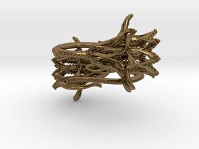 Plugs / gauges/ 4g (5 mm) in Polished Bronze