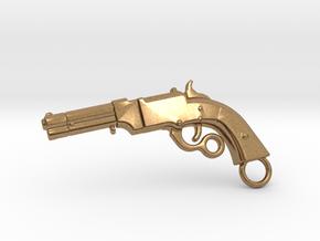 Volcanic Gun in Natural Brass