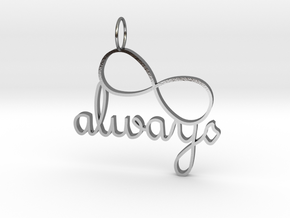 Always Infinity in Polished Silver
