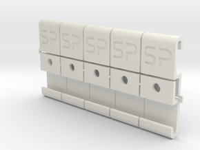 Slider 'Type S' for SwitchPic-Panels  in White Natural Versatile Plastic