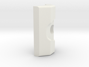 LSR Ring [Bottom Addon] in White Natural Versatile Plastic
