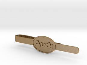 Luxury Audi Tie Clip - Classic in Polished Gold Steel