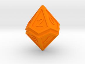 Split D10 xl in Orange Strong & Flexible Polished